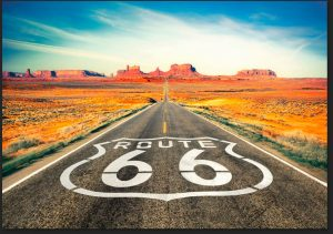 La mythique route 66 symbolise le rêve américain