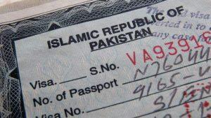 Visa pour le Pakistan